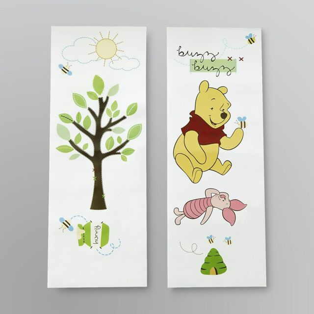 Disney Winnie The Poohs ABCs Decorative Removable Wall Applique ...