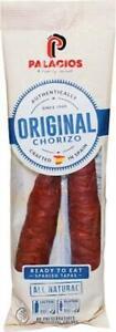 Chorizos Palacios autentico importado de España. 7.9 oz.