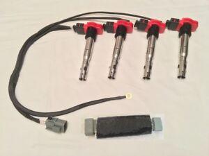 Compatible con S13 CA18DET AUDI R8 conversión Telar Arnés De Bobina De Encendido