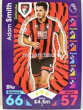 Match Attax 2016/17 Premier League - #004 Adam Smith - AFC Bournemouth