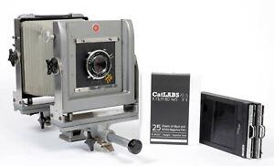 Calumet-CC400-4X5-Camera-with-135mm-Lens-FRESH-FILM-Holders-13