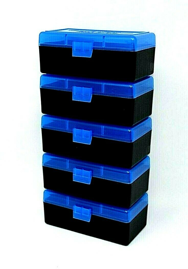 10 GREEN-BLACK 100 ROUND 223 5.56 NEW ITEM BERRY/'S PLASTIC AMMO BOXES