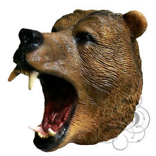 Latex Full Head Animals Realistic Bear High Quality Fancy Dress Up Party Masks