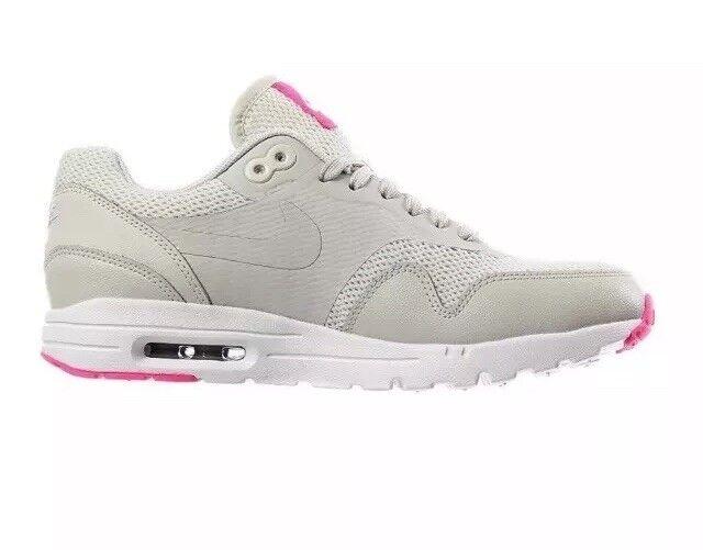Women's Nike Air Max Max Max 1 Ultra NEW Grey   Pink  Size 7.5 BNIB 5517f7