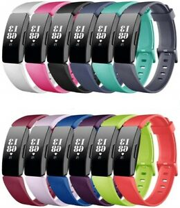 For-Fitbit-Inspire-HR-Silicone-Fitness-Replacement-Wrist-Sports-Strap-Band