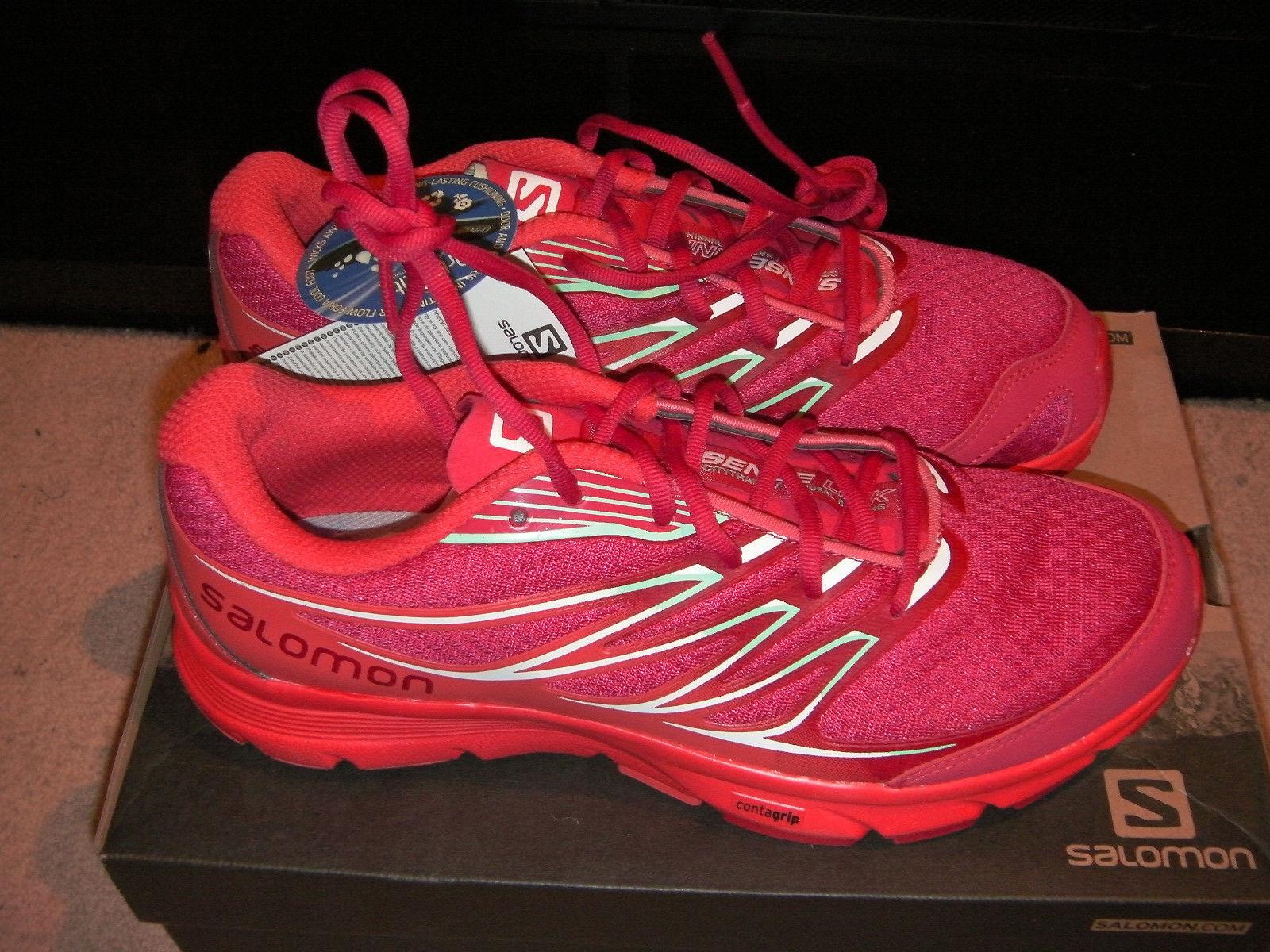 Salomon Sense Link Women Trail Running shoes - Pink - Size 7.5UK (41.5)