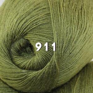 Sale 1 Skein x50g LACE Soft Acrylic Wool Cashmere hand knit Crochet Wrap Yarn 22