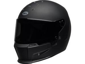 Helmet-Integral-Motorbike-Bell-Eliminator-Black-Matt-Size-Option-XS-lt-XXL