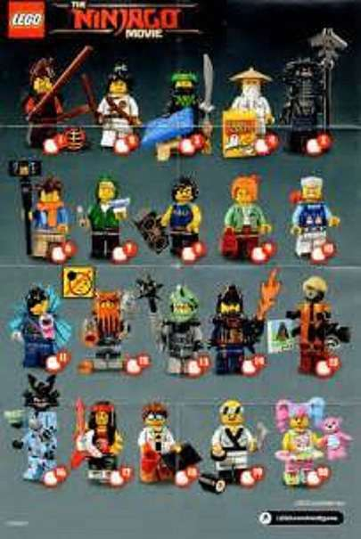 LEGO® 71019  Ninjago Movie 20 Minifiguren