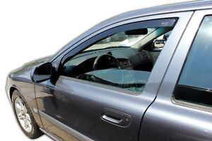 Window Deflectors visors rain guards for VOLVO V70 2000-2007 4pcs In-Channel