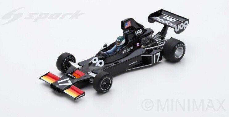 Shadow DN5 GP Brazil 1975 J.P.Jarier 1 18 18S369 Sparkmodel