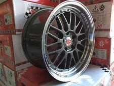 """19""""Carsonic CSW2 Le Mans BMW 3er E82 E87 E46 E90 91 92 93 8,5-9,5x19 Zoll Grau"""