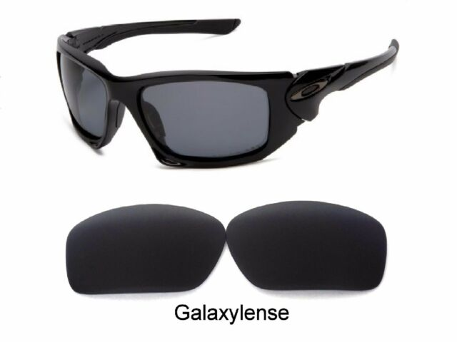 a466b9de5 Galaxy Replacement Lenses For Oakley Scalpel Sunglasses Black Polarized