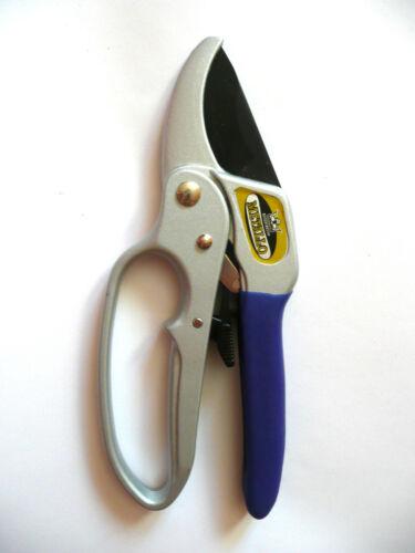 Metallo K-0200 Ratchet Pruning Shears Gear powered garden scissors tool pruner