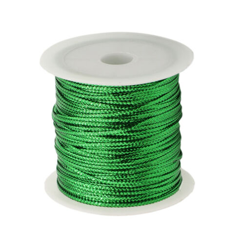 23m Colorful Tags Wire Banner String Gift Cord Package Ribbons for Halloween