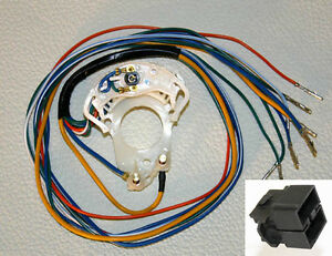 new! 1965 1966 mustang turn signal switch cam with wire harness Turn Signal Switch Wiring Diagram image is loading new 1965 1966 mustang turn signal switch cam