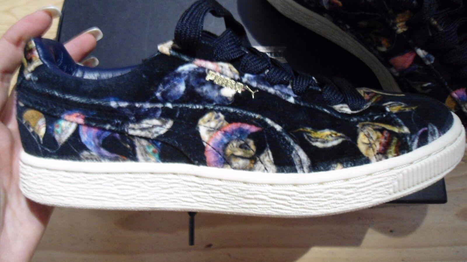 Lujo Puma Sneaker Limited Edition terciopelo Velvet negro ha fallado