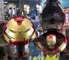 King Arts Avengers Age of Ultron 1/5 HULKBUSTER & IRONMAN MARK 43 HELMET LED