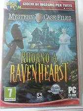 Mystery Case Files: Ritorno A Ravenhearst PC SIGILLATO