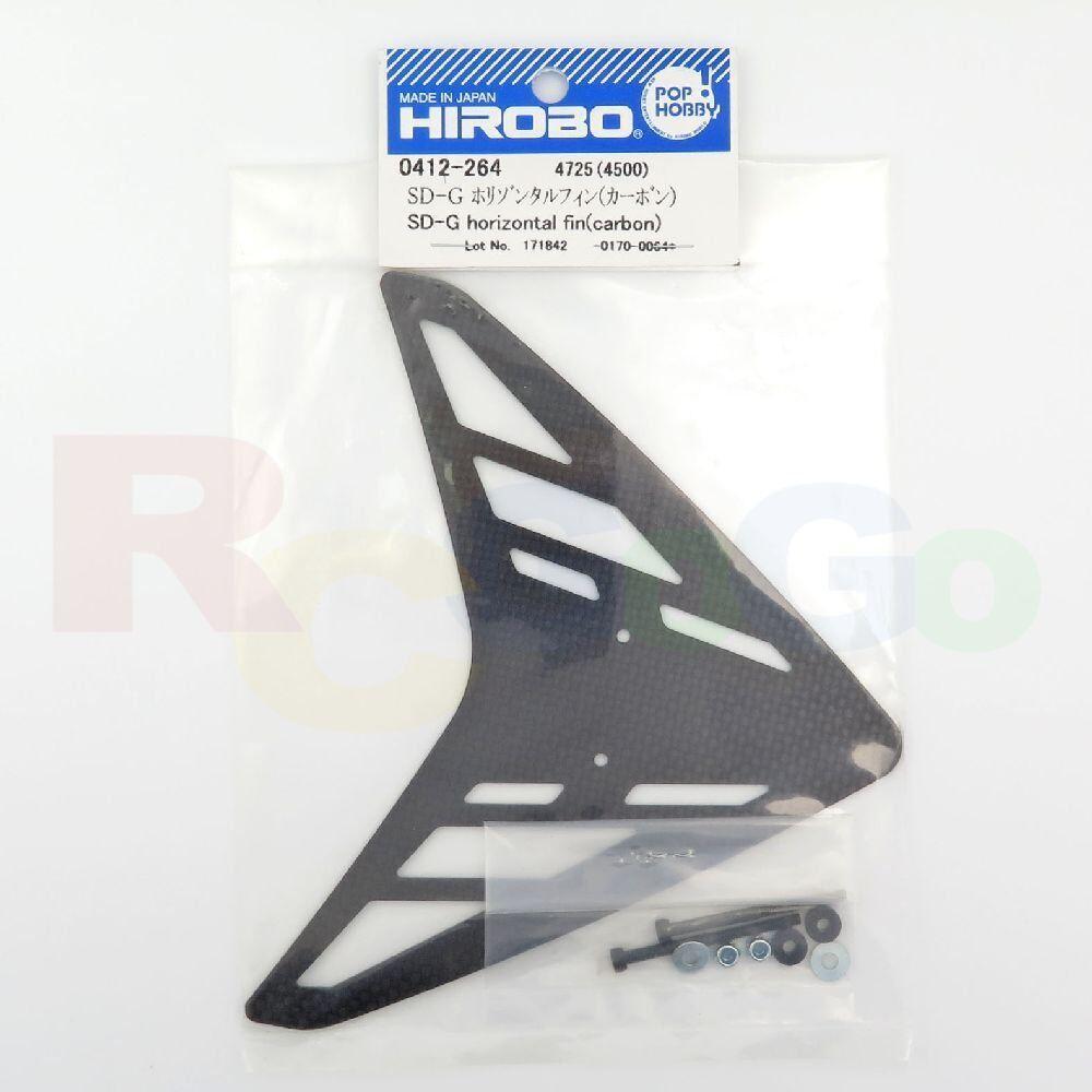 HIROBO 0412-264 SCEADU CARBON SD-G HORIZONTAL FIN FIN FIN HELICOPTER PARTS 198c59
