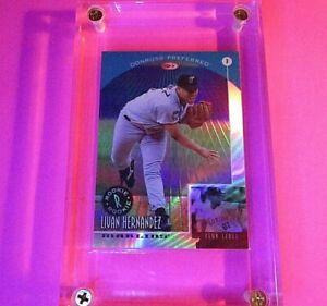 1998-Donruss-PRIZED-Collections-PREFERRED-Livan-Hernandez-Rookie-700-MINT-55