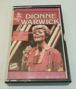 The Very Best Of Dionne Warwick Cassette