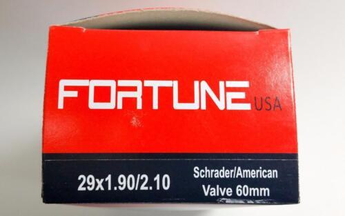 1 29x2.10 Inner Tube Shrader regular American Valve 60mm 29er 29 inch Racing