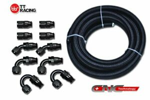 Silver Hose /& Stainless Banjos Pro Braking PBC2829-SIL-SIL Braided Clutch Line