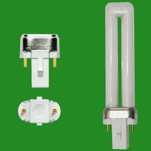 8x 11W G23 2 Stecknadel Energiesparlampe Cfl FLS Pls Steck Glühbirne 2700K Warm