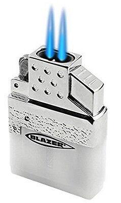 Blazer Top-Z Dual Torch Flame Butane Lighter Insert for Standard Fluid Lighter