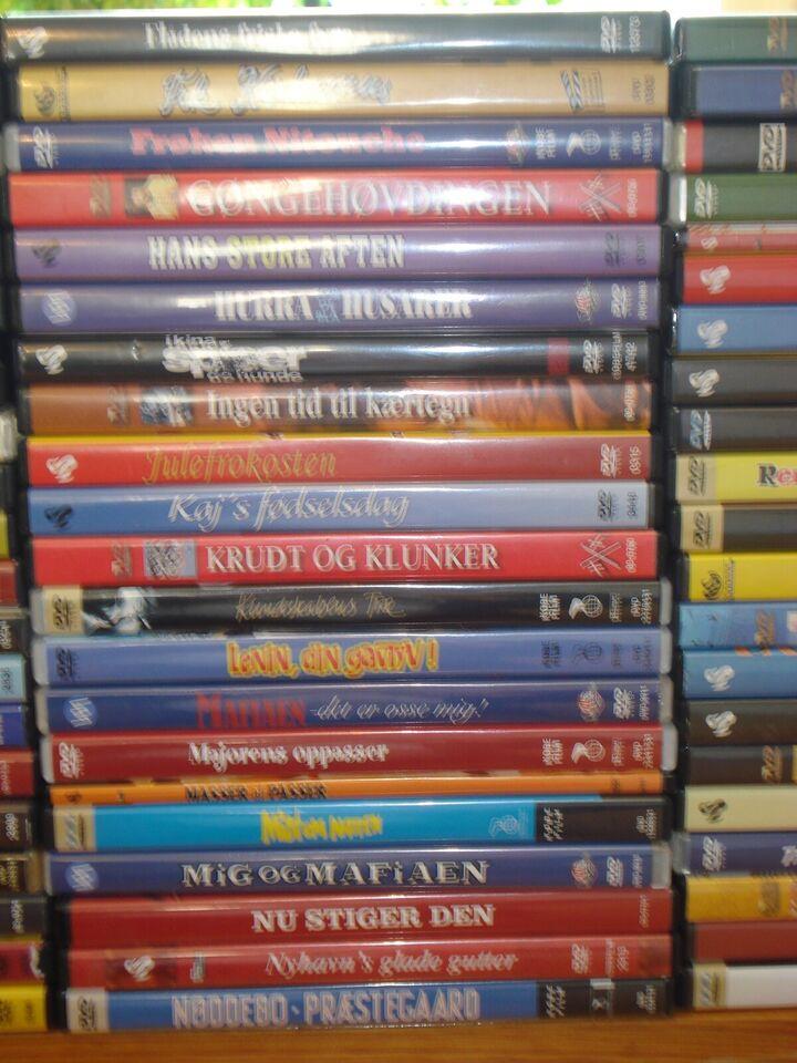 Danske film 1930-1999, DVD, familiefilm