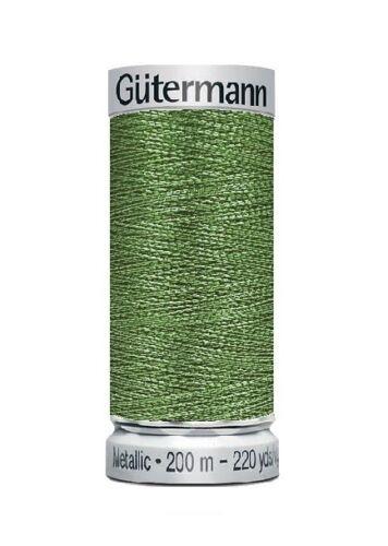 200m FB 2.30 eur//100 metros 7056 Gütermann máquinas metalizada Stick Garn