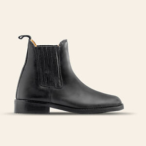 Saddle-Up-Art-1800D-01-Damen-Komfort-Stiefelette-mit-abgedecktem-Gummizug