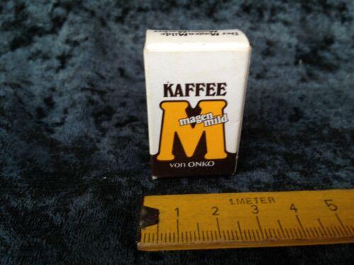 alte Pappschachtel,Kaffee magenmild von Onko,Zubehör,Kaufladen,Puppenküche