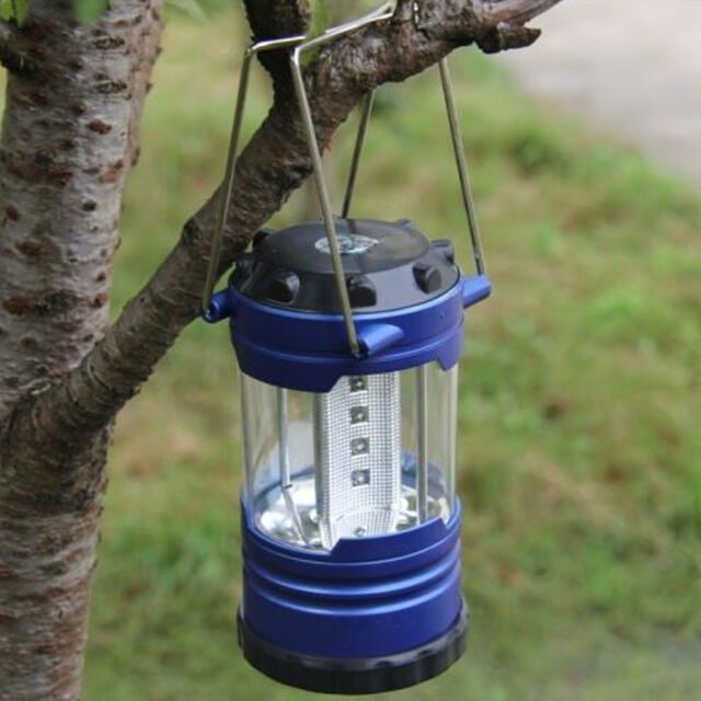 New Camping Lantern Bivouac Hiking Camping Tent Light 12 LED Lamp with Compass