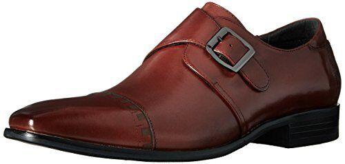 Stacy Adams Mens Macmillian-Cap Toe Monk Strap Slip-On Loafer- Select SZ color.