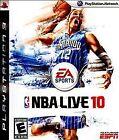 NBA Live 10 (Sony PlayStation 3, 2009)