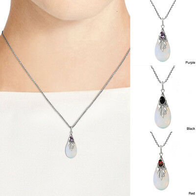 EG /_ Damen Multi Schichten Halskette Kreis Stange Anhänger Boho Schmuck Geschenk