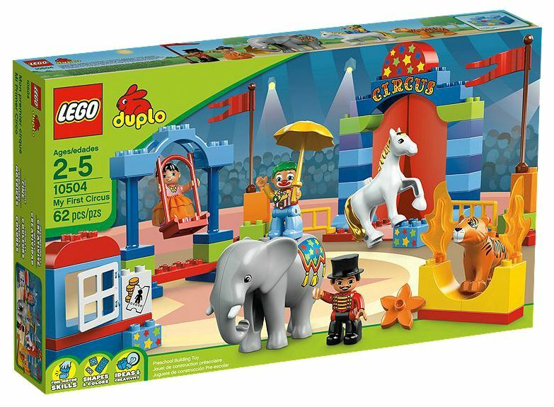 Duplo ® Grand Cirque Lego Nouveau OvpMy First 10504 HE29ID