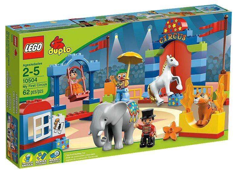 LEGO  ® DUPLO 10504 GReE CIRCO NUOVO OVP _ My primero Circus nuovo MISB NRFB  forma unica