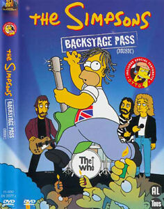 THE-SIMPSONS-BACKSTAGE-PASS-Music-English-Francais-Nederlands-sealed