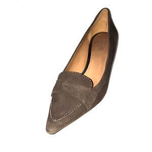 Plumes En Escarpins Daim Coach Kaki Chaussures Gris 7m Winnie 198 Talons À Taille Bout Pointu 887874160999 q4Xxwxd