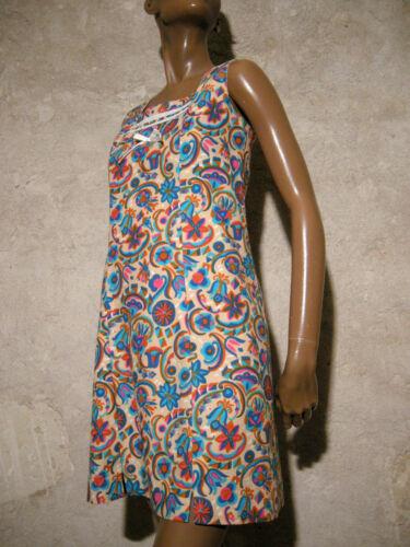 38 Vintage 1960 Retro 60s Sessanta 60er 36 Anni Kleid Chic Vestito Abito qgSOxTq