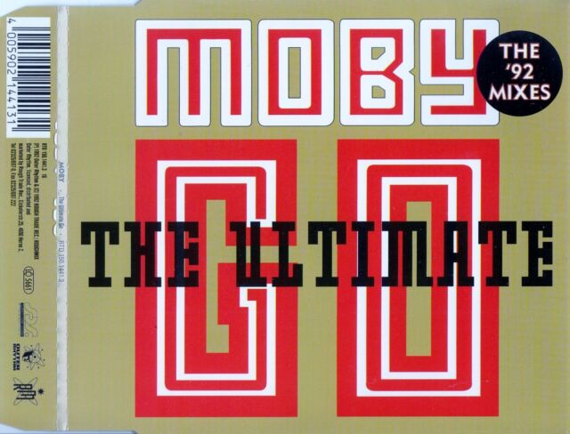 MOBY : THE ULTIMATE GO / CD