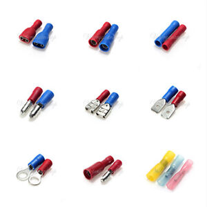 insulated crimp terminals electrical connectors auto wiring spade rh m ebay ie terminal connectors automotive automotive wiring connectors supplies