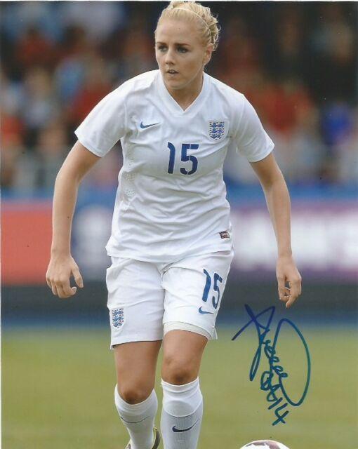 England Alex Greenwood Autographed Signed 8x10 Photo COA A