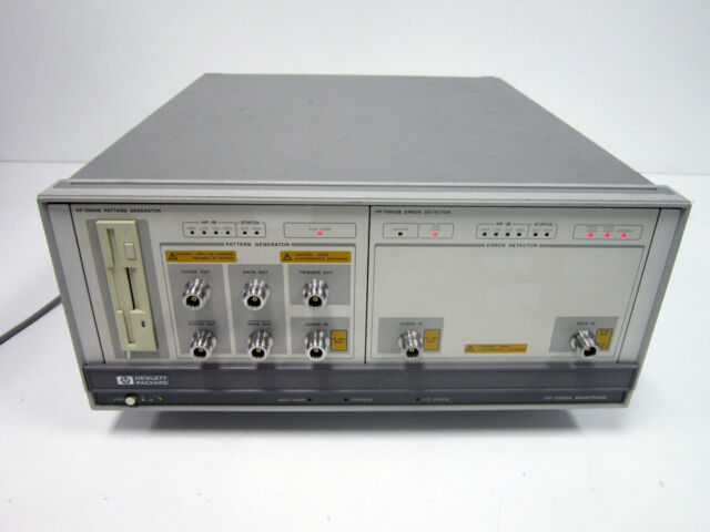 Salable HP Agilent 70001a Mainframe W/ 70841b Pattern