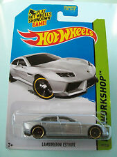 Hot Wheels 2014 HW Workshop - LAMBORGHINI ESTOQUE (Silver) #197/250 - NIP