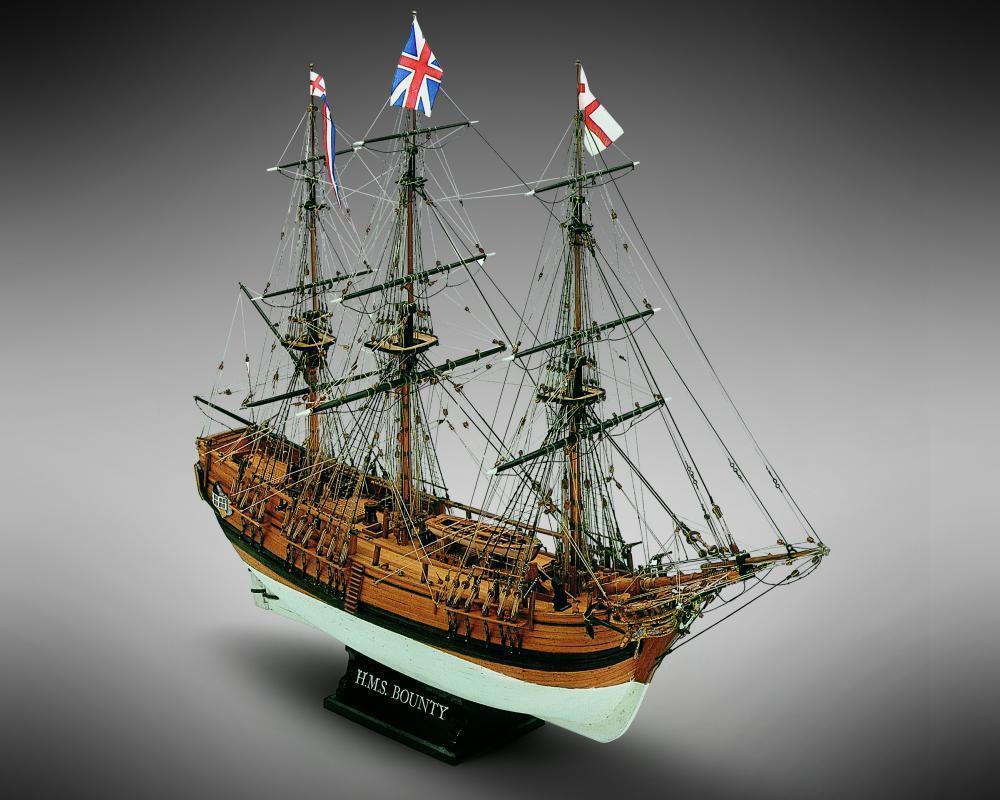 Mamoli HMS Bounty 1 64 MV39 Model Boat Kit