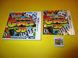 Junior-Classic-Games-3D-Nintendo-3DS-XL-2DS-Game-w-Case-amp-Manual